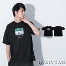 【OBIYUAN】短袖衣服 韓國製 美金 寬鬆t恤 落肩 上衣【F10022】
