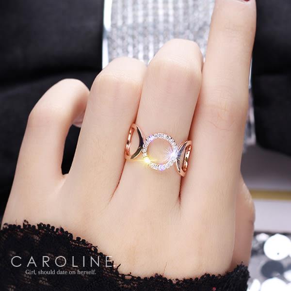 《Caroline》★韓國熱賣造型時尚 車工精美 戒指71160