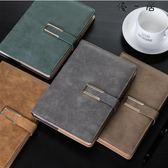 帶扣筆記本文具本子加厚商務辦公記事本可訂製