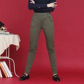 【中大尺碼】MIT雙腰秀士刷毛牛仔褲