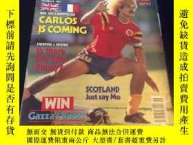 二手書博民逛書店英國足球雜誌SHOOT罕見shoot 1991年3月2日出版 封面哥倫比亞球星金毛獅王巴爾德拉
