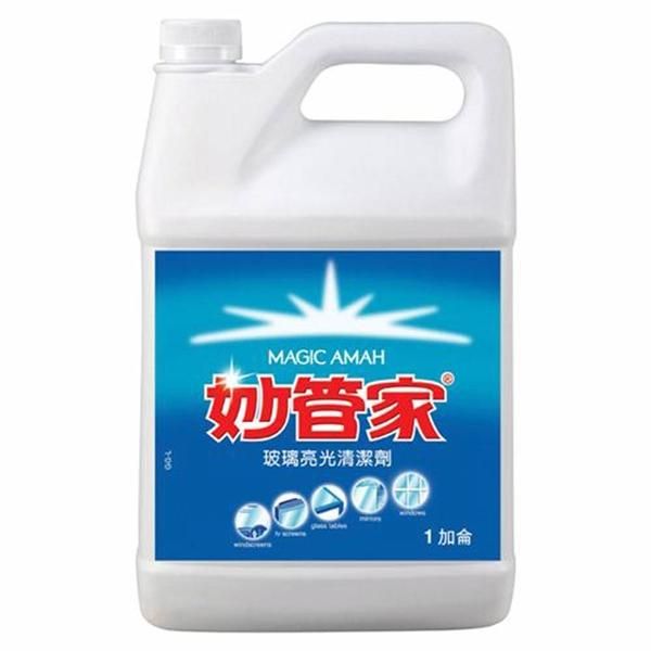 【奇奇文具】妙管家 FP-GG玻璃清潔劑 (1加侖)