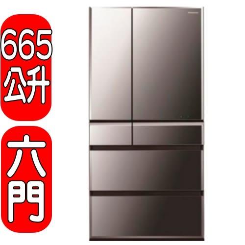 《再打X折可議價》Panasonic國際牌【NR-F672WX-X1】六門變頻冰箱《日本原裝》