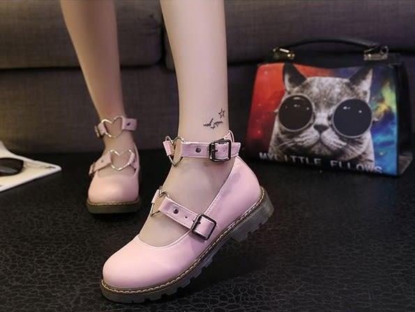 聖誕預熱   jk制服鞋女日系圓頭lolita洛麗塔鞋子學生小皮鞋夏季軟妹森女鞋  居享優品