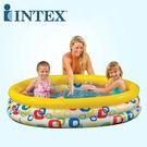 INTEX 58449 新款隨意幾何普普風游泳池 168cm x 38cm (附修補片)