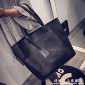 新款時尚女包歐美簡約百搭子母包大包包女手提包單肩斜背包潮 科炫數位