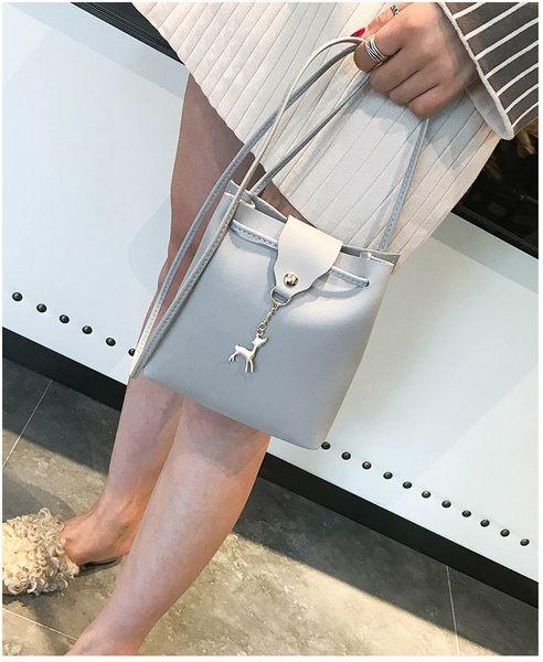 BS貝殼【BAG0014】女包新款韓版女式包個性小鹿包  單肩包斜背包手拿包零錢包手機包