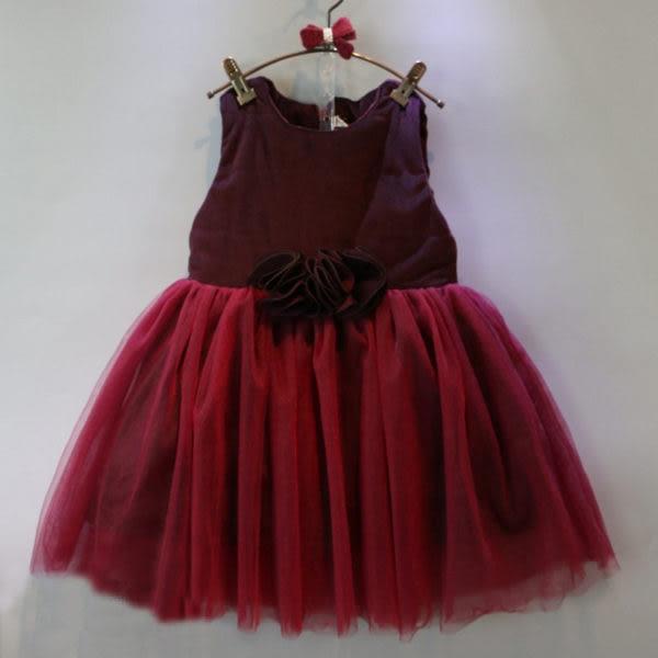 童裝 過年 鋪棉背心紗裙澎澎裙連身裙 洋裝 背心裙 橘魔法 Baby magic 現貨 兒童 婚禮花童 女童
