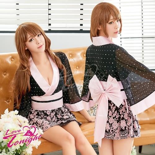 ■■iMake曖昧客■■和服T9323-粉黑-F
