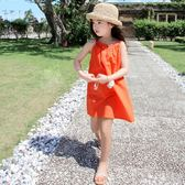 女童洋裝 童裝小女孩裙子女童夏裝連身裙11兒童夏季韓國夏天吊帶裙子 BBJH