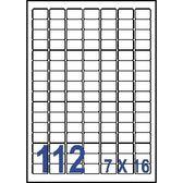 Unistar 裕德3合1電腦標籤紙 (28)US4211 112格 (20張/包)