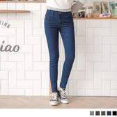 《BA4534》芭蕾舞褲-高含棉磨毛俐落修身窄管褲 OrangeBear