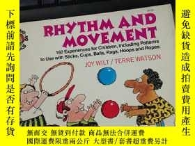 二手書博民逛書店RHYTHM罕見AND MOVEMENT藝術的韻律與動感Y217