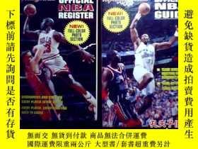 二手書博民逛書店OFFICIAL罕見NBA 【GUIDE 十 REGISTER 1997-98 官方指南和官方註冊登記冊 兩本和售