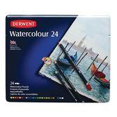 DW水性色鉛24色-鐵盒裝 32883