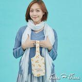 【Tiara Tiara】百貨同步 純棉柴犬多功能環保飲料提袋(兩件組)