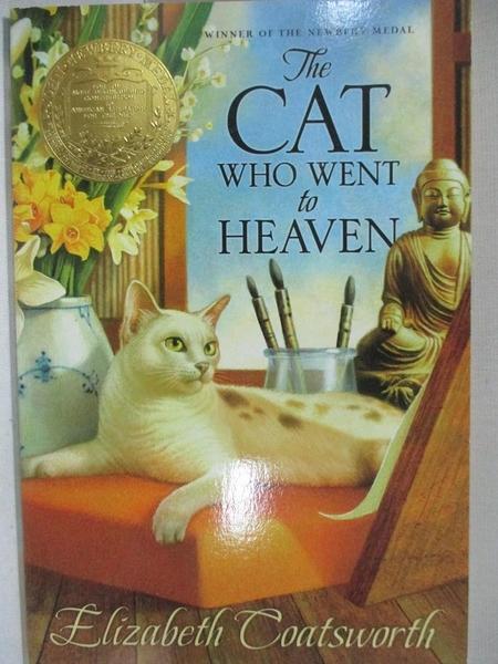 【書寶二手書T4/少年童書_GJL】The Cat Who Went to Heaven_Coatsworth, Elizabeth Jane/ Vitale, Raoul (ILT)