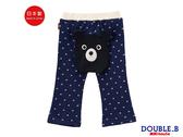 DOUBLE_B 日本製 黑熊星星包屁褲