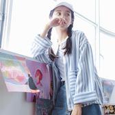 夾克外套小清新棒球服女春季新款韓版寬鬆百搭學院風薄夾克 mc5796『M&G大尺碼』