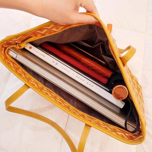 包包女新款百搭韓國東大門狗牙包大容量購物袋單肩手提拖特包 晟鵬國際貿易