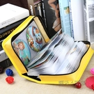 CD盒大容量滌綸布CD包音樂光盤收納包128片裝汽車碟片整理包防潮  ATF  元旦鉅惠