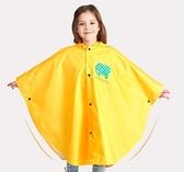 兒童雨衣女童寶寶親子雨披斗篷式幼兒園小孩小學生書包位男童雨衣叢林之家