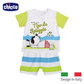 chicco-海灘短袖套裝