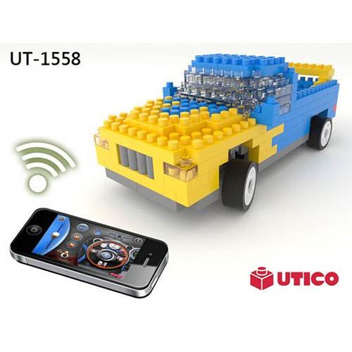 【UTICO】1558 Truck 卡車 智慧手機遙控積木車