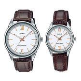 CASIO 卡西歐手錶專賣店 MTP-V005L-7B3 + LTP-V005L-7B3 簡約流行石英對錶 生活日常防水