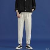 鹽系西褲女寬松直筒2020新款春秋薄款高腰顯瘦垂感百搭闊腿小西褲 HR417【俏美人大呎碼】