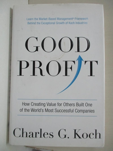 【書寶二手書T1/大學商學_DQY】Good Profit: How Creating Value for Others Built…