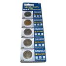【GU208】環保型鈕扣電池/水銀電池CR2032(一卡5顆)~不拆售 EZGO商城