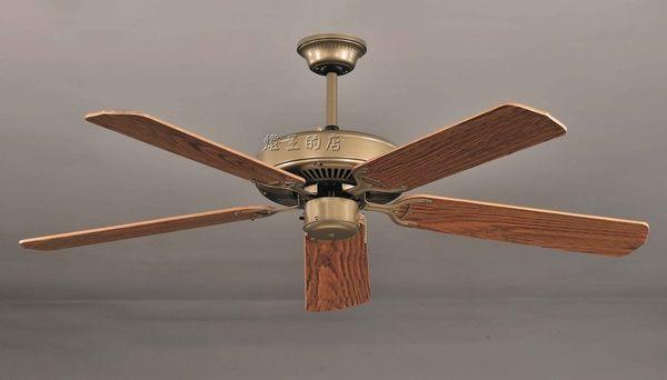 【燈王的店】《台灣製燈王強風吊扇》52吋凡地歐古銅吊扇 ☆S1001A-F0278