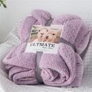 雙層加厚羊羔絨毛毯冬季保暖單人雙人法蘭絨蓋毯學生午睡毯絨被子 NMS蘿莉新品