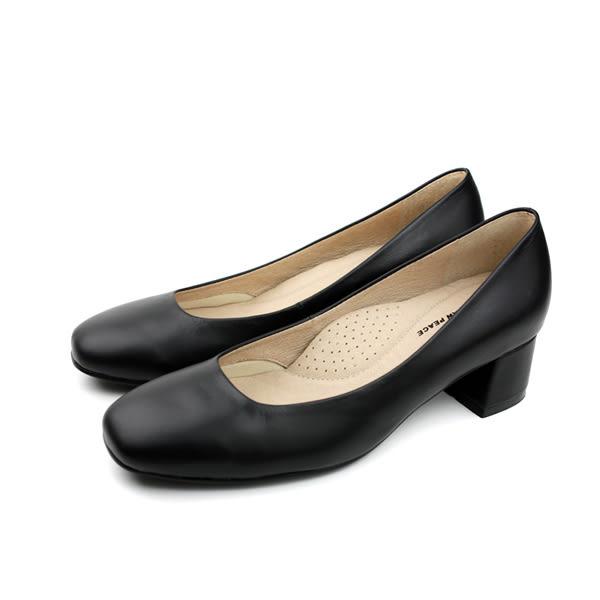 HUMAN PEACE 低跟皮鞋 女鞋 黑色 no224