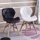 電腦椅  簡約現代電腦椅創意洽談椅時尚會議椅簡易辦公室座椅餐桌靠背椅子 99一件免運居家