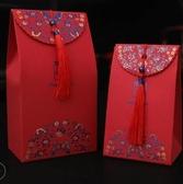 婚慶用品結婚創意糖盒子中式糖袋紙盒