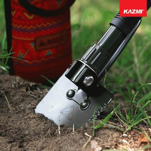 丹大戶外【KAZMI】多功能折疊工兵鏟S K7T3F003