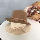 百搭禮帽女新款簡約圈圈紗線針織帽子夏天