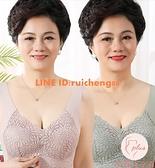 老年人內衣媽媽文胸無鋼圈背心式大碼中年女性胸罩女【大碼百分百】