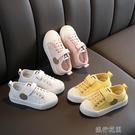 快速出貨 兒童星星鞋男童鞋新款女童小白球鞋休閒板鞋寶寶餅干鞋潮