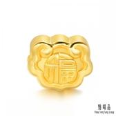點睛品 Charme文化祝福 福氣自來 黃金串飾