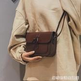 小包包女新款韓國文藝復古小方包chic百搭斜背包簡約單肩包潮  居家物語