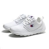 CHAMPION 休閒鞋 CAMPUS AI 全白 輕量 網布 條紋 女 (布魯克林) 911220200