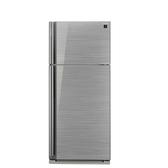 回函贈SHARP夏普583公升雙門變頻玻璃鏡面冰箱SJ-GD58V-SL