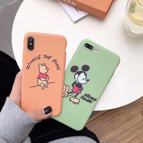 【SZ15】米奇小熊維尼熊軟殼 iphone XS MAX手機殼iphone XR XS手機殼 iphone 8plus手機殼 i6s plus手機殼 iphone X