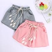兒童短褲  兒童褲子女童夏季短褲薄款百搭寶寶休閒運動熱褲外穿  莎瓦迪卡