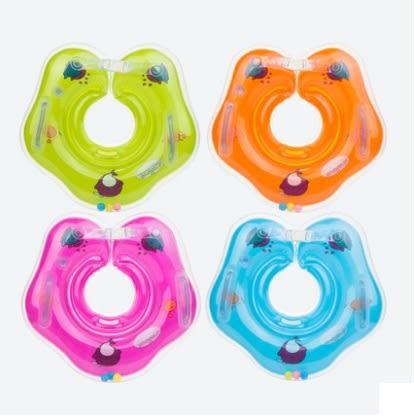 游泳圈嬰兒脖圈新生兒頸圈0-12個月兒童寶寶洗澡腋下浮圈1-3-6歲 全館免運