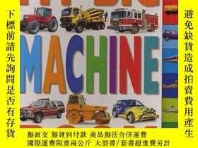 二手書博民逛書店My罕見Big Book of Machines (Funfax Early Learning)-我的機器大書(F