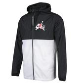 F-NIKE JUMPMAN 男裝 外套 休閒 透氣 基本 拼接 喬丹 黑白 CK2218-010
